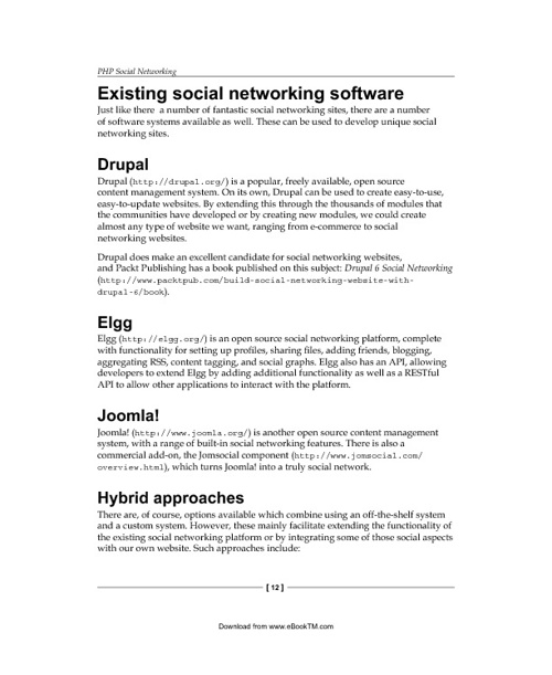 PHP Social Network