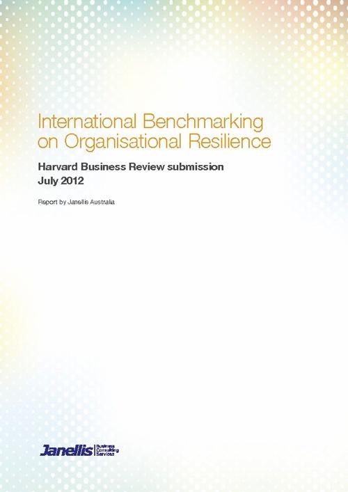 Janellis International Benchmarking