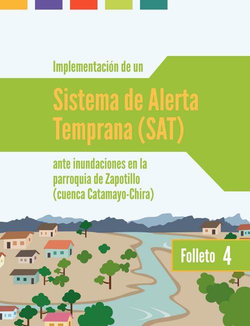 Sistemas de Alerta Temprana en la parroquia de Zapotillo