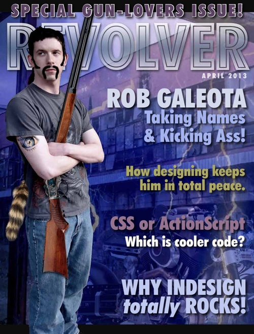 Magazine Sample Flip