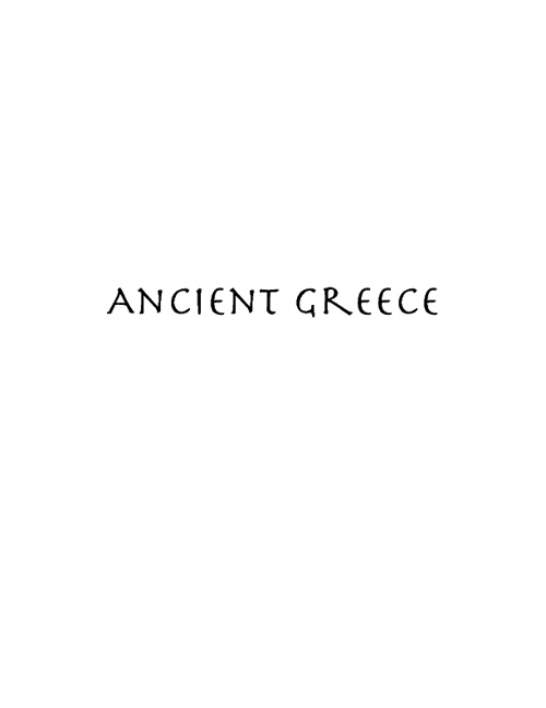 Ancient Greece fully edited
