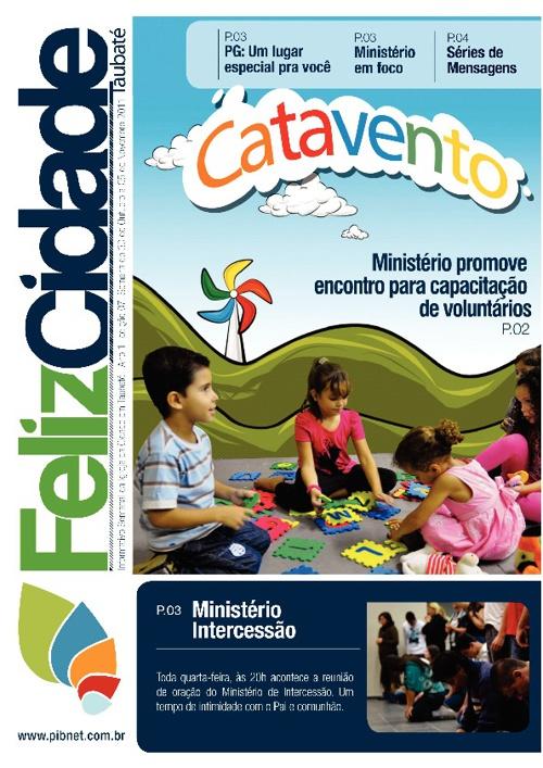 Revista Igreja da Cidade em Taubaté