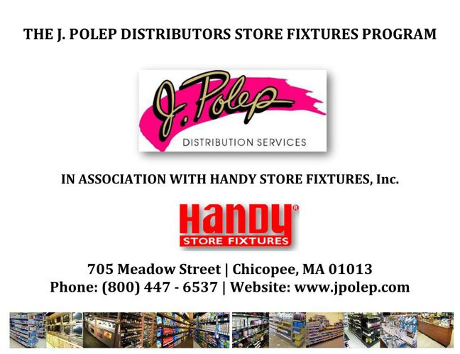 J.Polep Distribution Store Fixture Catalog