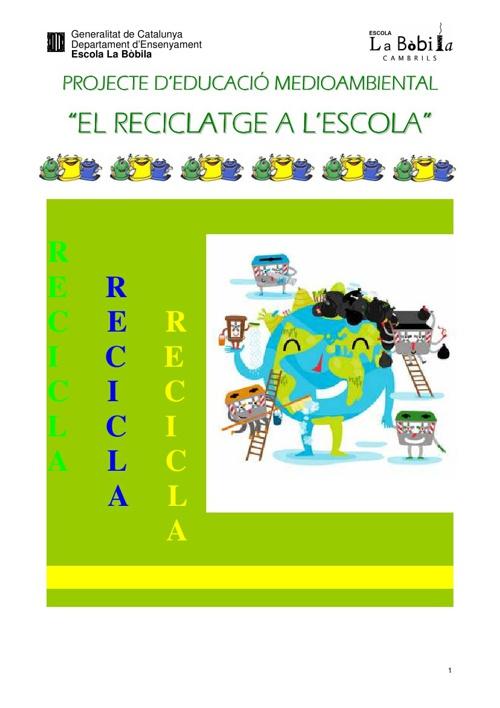 Projecte de Reciclatge