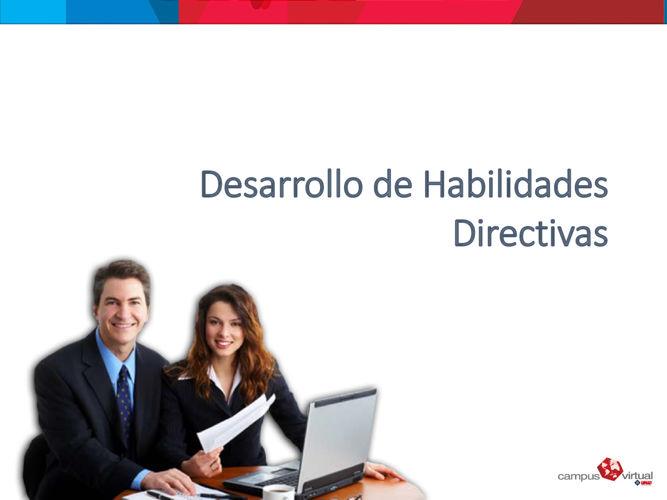 Habilidades directivas tema 1