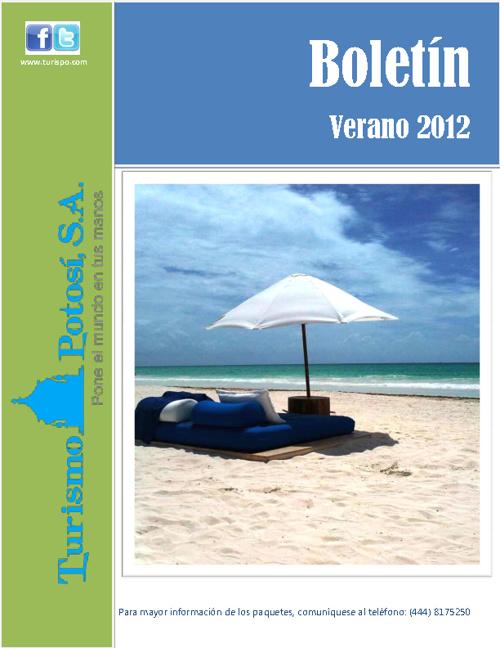 Boletin Verano 2012