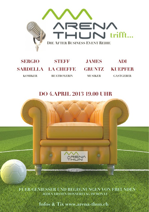"""""""Arena trifft"""" presented by Arena Thun AG"""