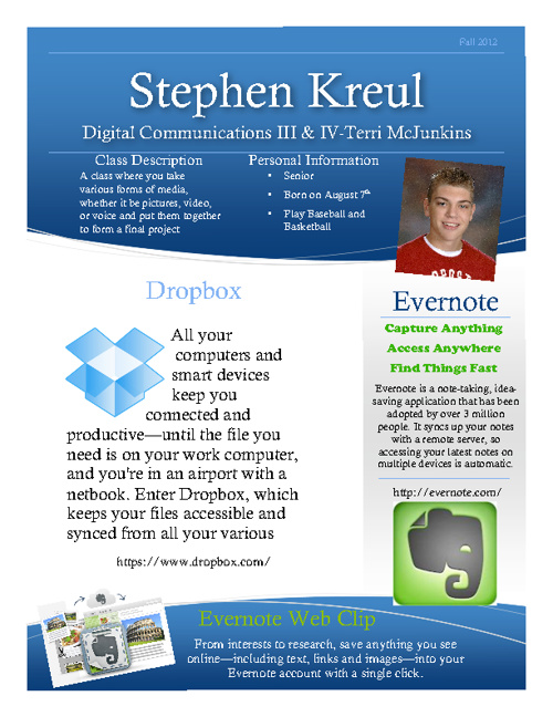 Stephen Kreul-Desktop Publishing III and IV
