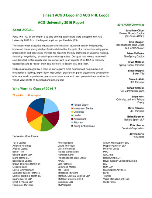 ACG University 2016 Report SPM Edits