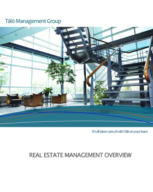 Tālō Management Group - Real Estate Management Overview
