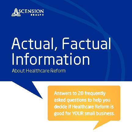 Ascension Actual, Factual Information Flip Book - English