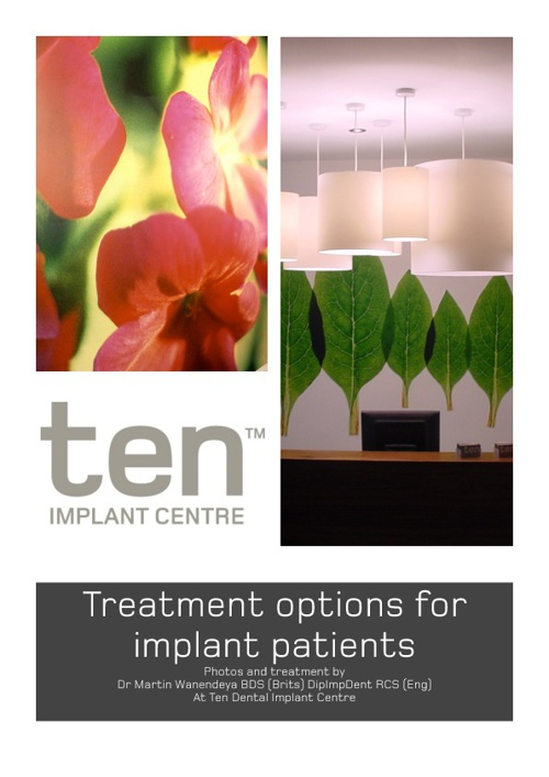 Treatment Options for Implant Patients
