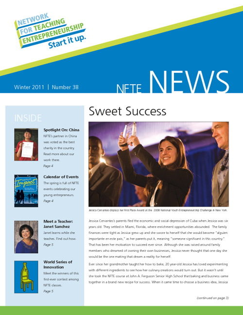 Winter Newsletter 2011
