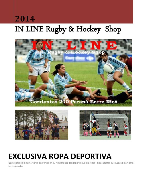 In Line Rugby & Hockey Shop