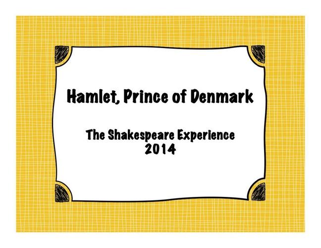 Hamlet 2014
