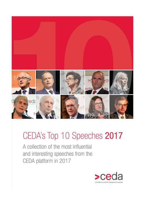 CEDA Top 10 Specches of 2017 FINAL