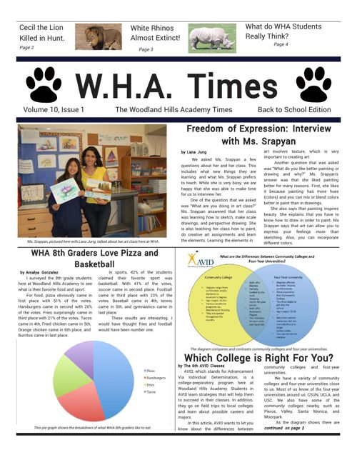 back to school edition newspaper