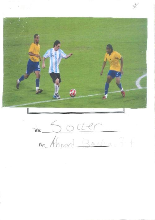 Ahmed - Soccer 3F