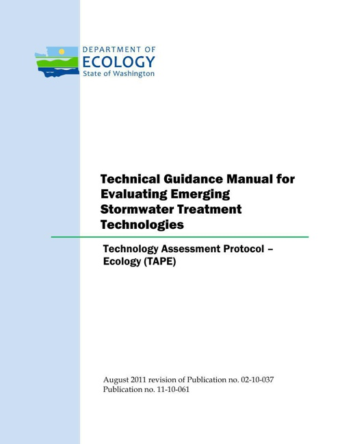 2011 TAPE Guidance Manual