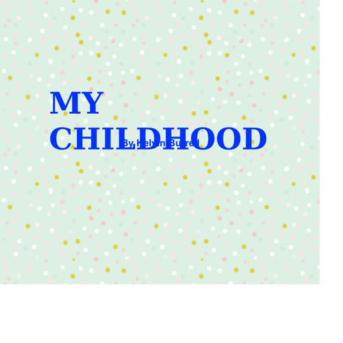 Kelvin Burrell Childhood Children Book
