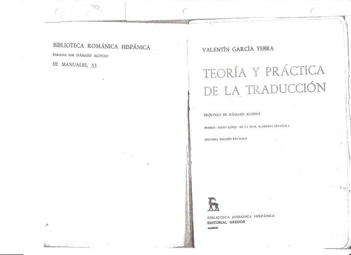 PRÉSTAMO / CALCO Y TRADUCCIÓN LITERAL