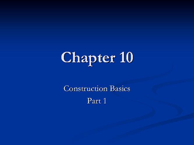 Beth Slowey Interior Design Chapter 10