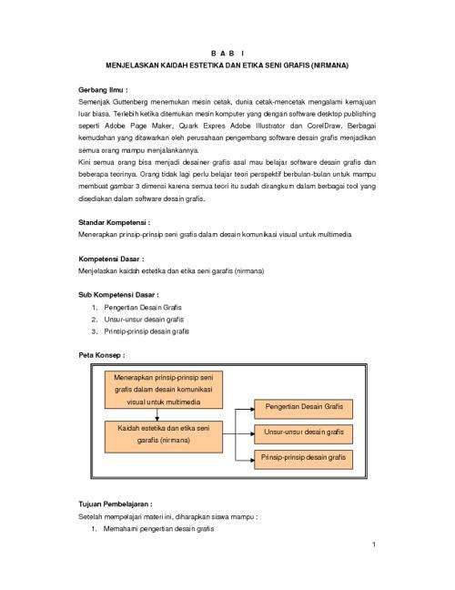 Menerapkan Prinsip-Prinsip Desain Grafis Multimedia