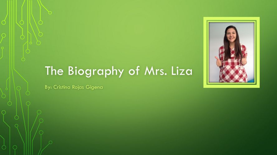 Cristina Rojas - Ms. Liza