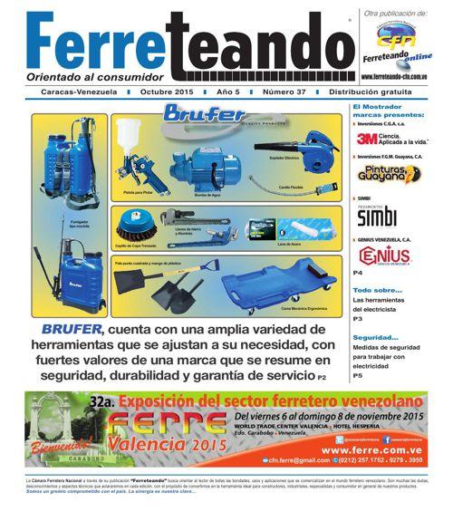 FERRETEANDO EDICIÓN NO 37 octubre