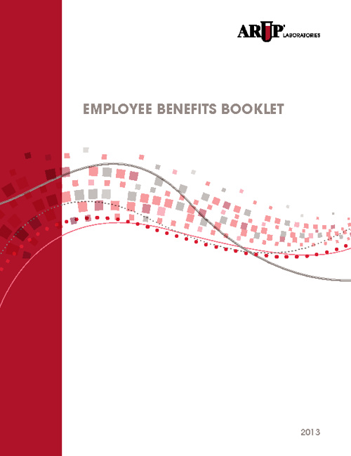 ARUP Laboratories Employee Benefits Booklet