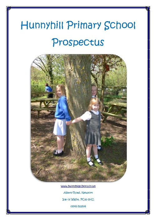 Hunnyhill Primary School Prospectus