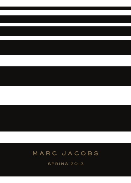 Marc Jacobs Women's Collection Mailer Spring 13 | Kolon