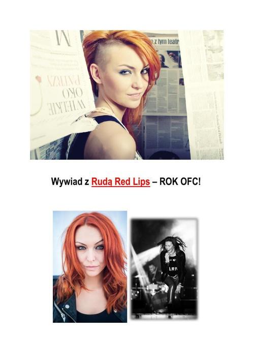Wywiad z Rudą Red Lips - 1 ROK OFC!