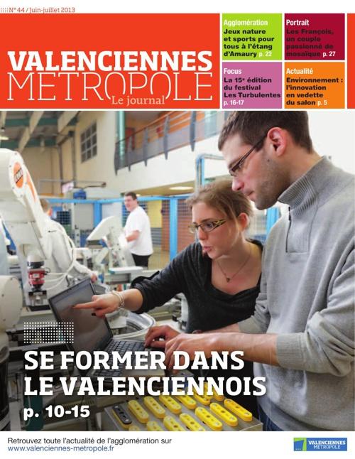 Valenciennes Métropole, le journal
