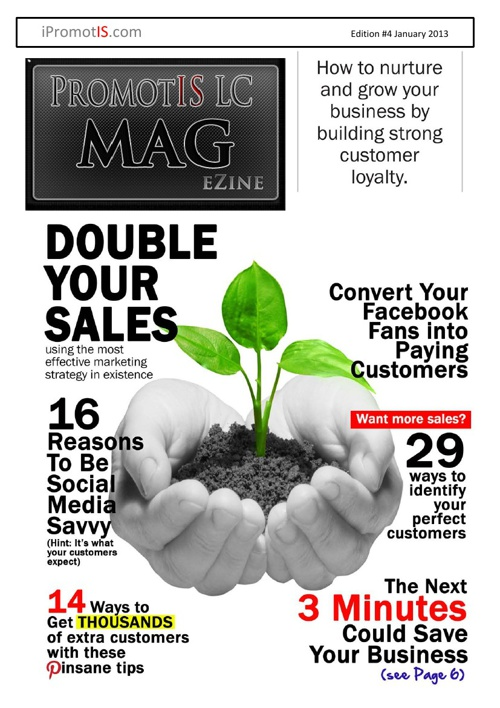 Marketing Magazine:  PromotIS Marketing Mag eZine