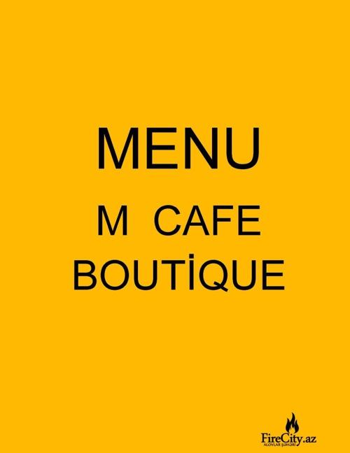 M CAFE_