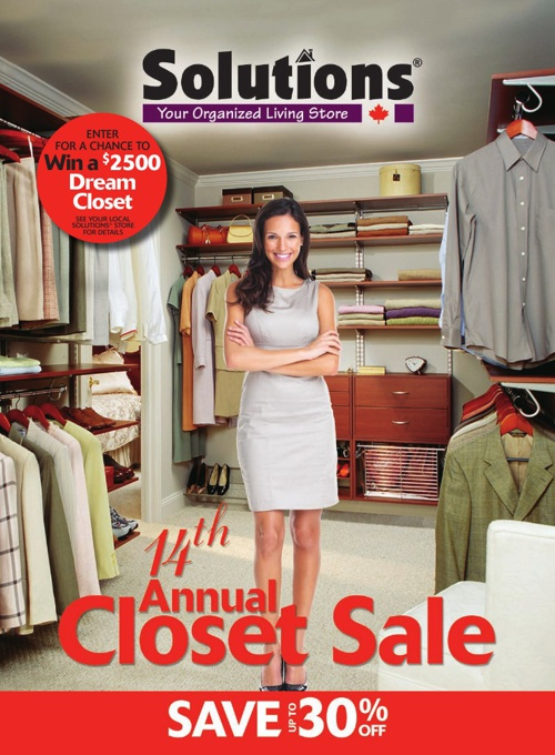 Annual Closet Sale Flyer