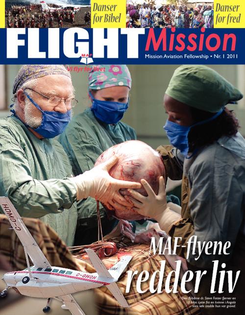 Flight Mission nr 1 - 2011