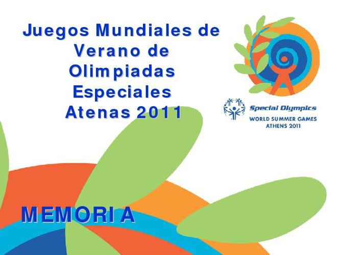 Delegacion Mexicana: Memoria Juegos Mundiales 2011, Grecia