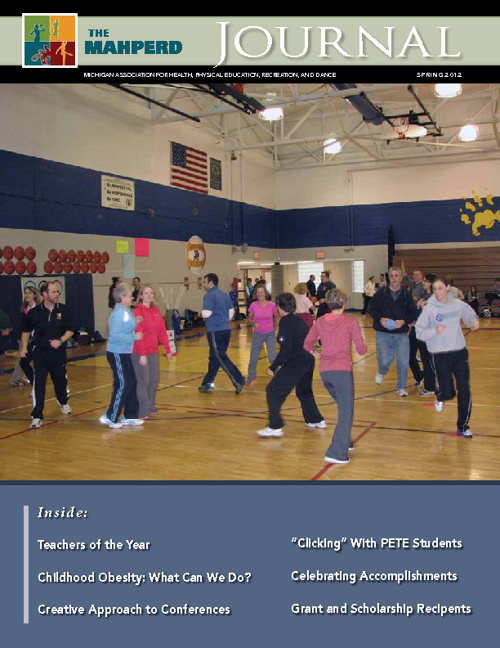 MAHPERD Journal Spring 2012