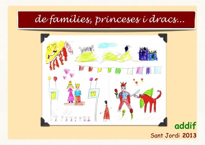 de famílies, princeses i dracs