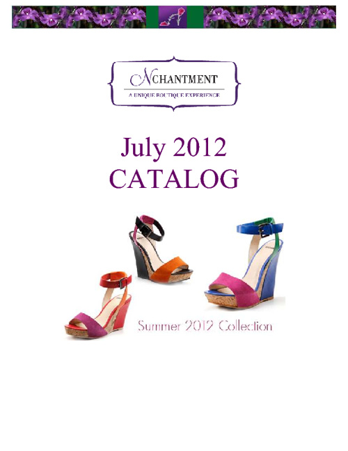 July 2012 Catalog