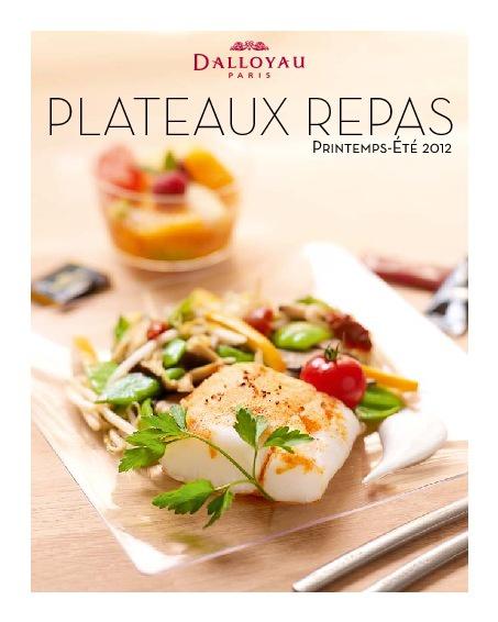 Plateaux-Repas Printemps-Eté 2012