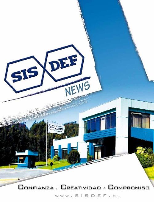 SISDEF News Agosto 2011