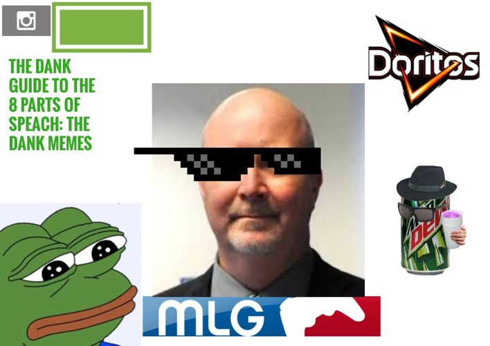 THE DANK MEME GUIDE TO THE 8 PARTS OF SPEACH