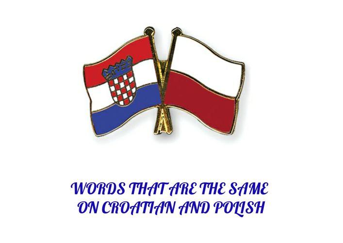 CROATIAN POLISH ENGLISH