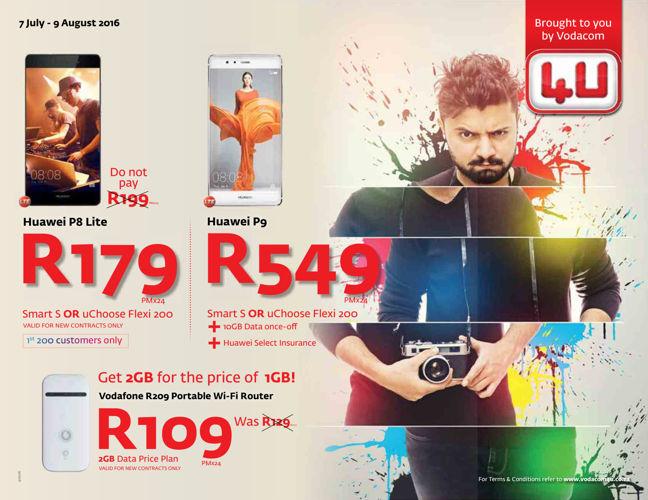 Vodacom4U (7 July - 9 August 2016)
