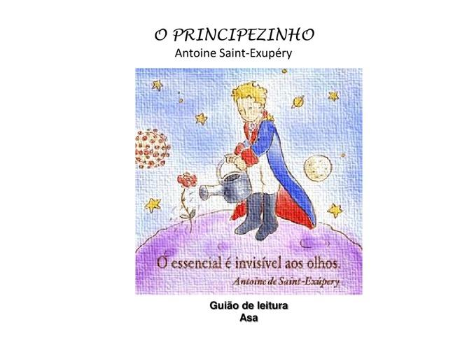"""Guião de leitura """"O Principezinho"""""""