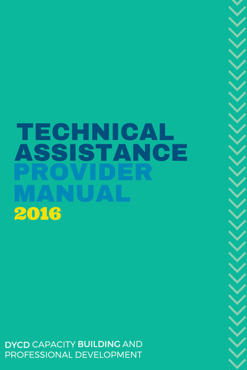 DYCD Technical Assistance Provider Manual