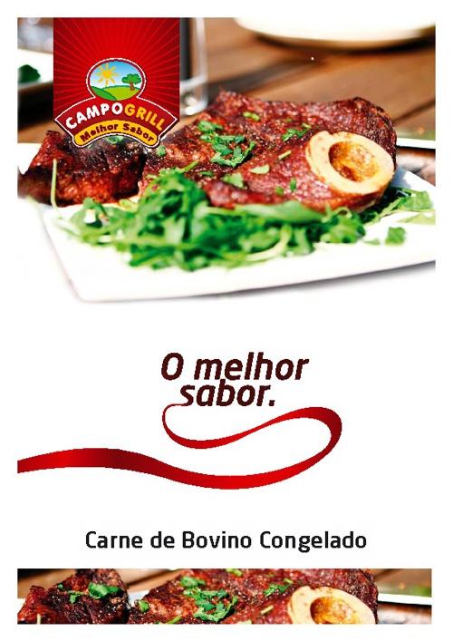 Carne de Bovino Congelado